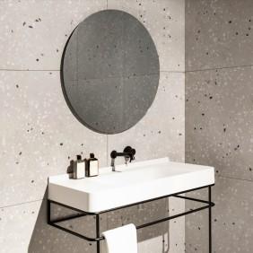 원형 욕실 거울