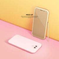 핑크 핸드폰 케이스
